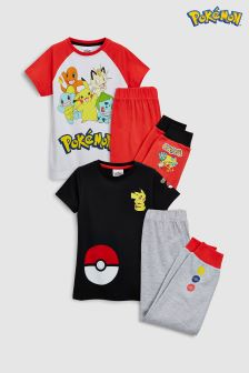 Pokémon Pyjamas Two Pack (3-12yrs)
