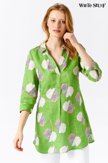 White Stuff Green Harper Tunic