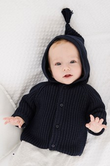 Hooded Cardigan (0mths-2yrs)