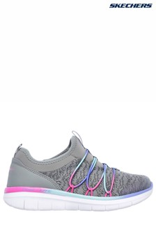 Skechers® Grey Synergy 2.0 Simply Chic Multi Knitted Mesh Shoe
