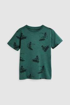 Skate Skeleton T-Shirt (3-16yrs)