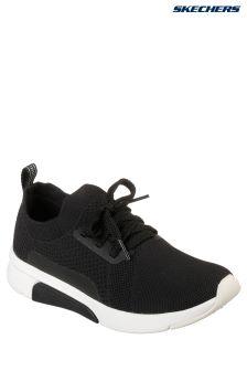 Skechers® Black Sportknit Slip-On