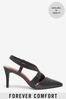 Asymmetric Two Part Slingbacks