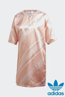 adidas Originals Pink Trefoil Dress