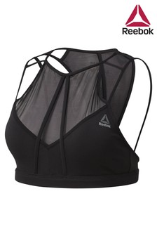 Reebok Black Dance Strappy Bra