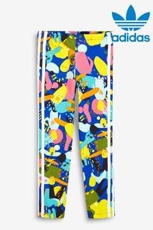 adidas Originals Little Kids Graphic 3 Stripe Leggings