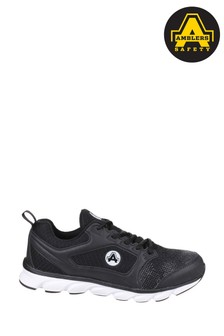Amblers Safety Black AS707 Lightweight Safety Trainers