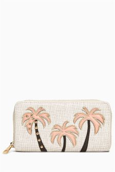 Palm Tree Purse