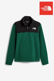 The North Face® Youth Glacier Fleece mit 1/4-Reißverschluss