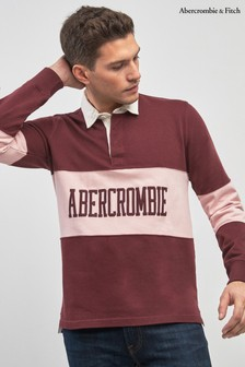 Abercrombie & Fitch Colourblock Poloshirt