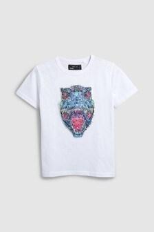 Dino Sequins T-Shirt (3-16yrs)