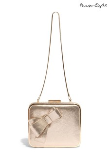 Phase Eight Allie Bow Clutch Bag