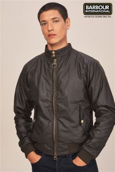 Barbour® International Olive Merchant Wax Jacket