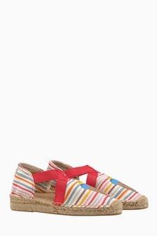 Espadrile elastice cu dungi Cath Kidston® Tresco