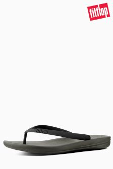 FitFlop™ Camouflage Green Mix iQushion Ergonomic Flip Flop