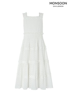 Monsoon Ivory Manon Dress