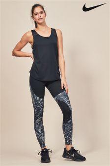 Nike Power Black Flutter Print Training Tight