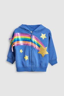 Sequin Star Hoody (6mths-6yrs)