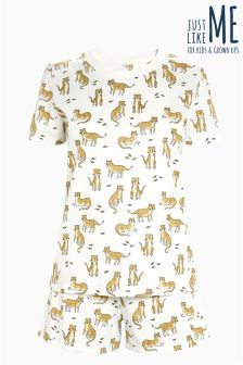 Leopard Short Pyjamas