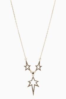 Sparkle Star Short Necklace