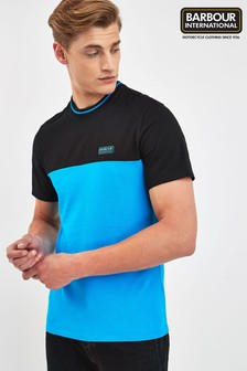 Barbour® International Turquoise Blocker Tee