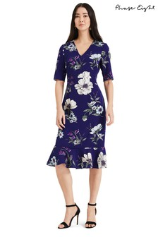 792e2da8fdd Phase Eight Cheryl Printed Sleeved Dress