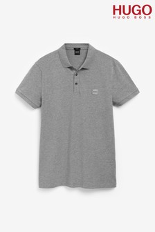 HUGO Grey Pass Polo