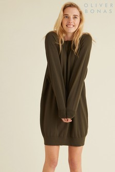 Oliver Bonas Green Contact Dry Handle Dress