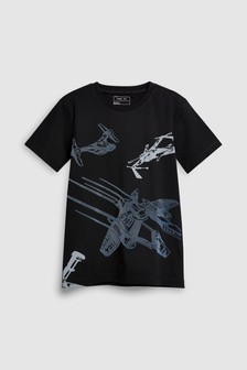 Spaceship T-Shirt (3-16yrs)