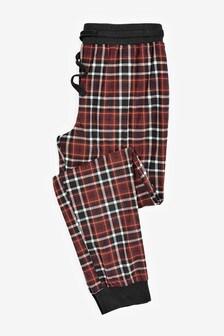Check Cosy Cuffed Pyjama Bottoms