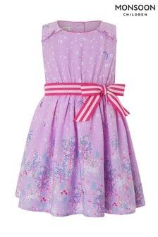 Monsoon Baby Celina Unicorn Dress