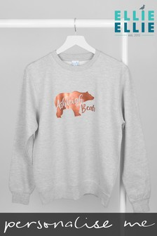 Personalised Mummy Bear Sweatshirt by Ellie Ellie