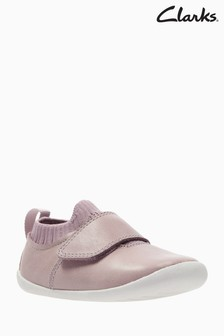 Clarks Pink Roamer Seek Crawler Shoe