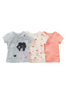 Ostrich Print T-Shirts Three Pack (3mths-6yrs)