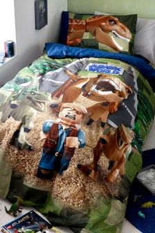 LEGO® Jurassic World Bed Set