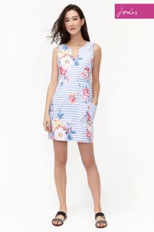 Joules Blue Whitstable Elayna Dress