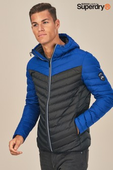 Superdry Chevron Colourblock Padded Jacket