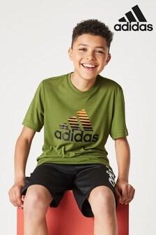 adidas Olive Prime T-Shirt
