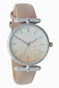 Ombre Shimmer T-Bar Watch