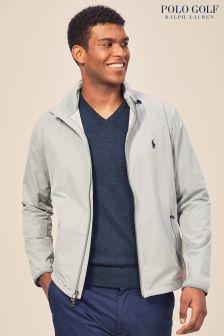 Серая куртка-анорак Ralph Lauren Polo Golf Museum