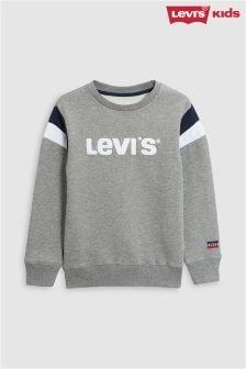 Levi's® Kids Grey Flocked Sweater