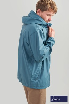 Joules Teal Portwell Leightweight Waterproof Jacket