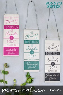 Personalised Mother's Day Seeds Sign by Jonnys Sister