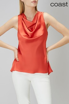 Coast Orange Kayley Top
