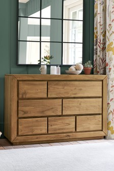 Everett 7 Drawer Wide Chest