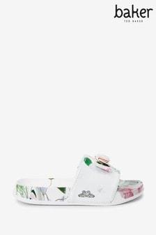 Baker by Ted Baker Floral Sliders