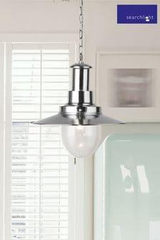 Adrianna Papell Blue Plus 3/4 Sleeve Beaded Mermaid Gown