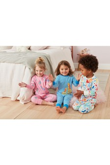 Character Snuggle Pyjamas Three Pack (9mths-8yrs)