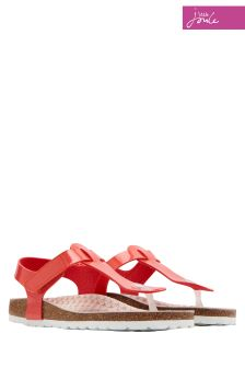 Joules Red Sky Sunshine Sandal