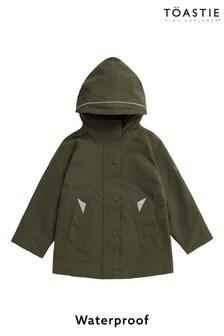 Töastie® Kids Olive Waterproof Raincoat